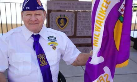 Purple Heart Day honors Milwaukee's wounded veterans
