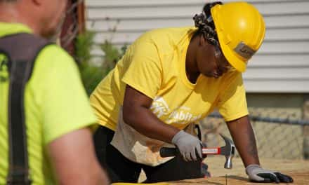 Milwaukee mother gets help building her first home in Walnut Hill