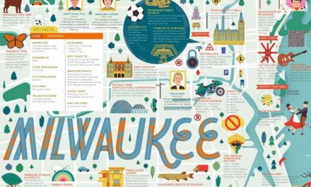 Milwaukee ranks 28th in new children's book because its alphabetical