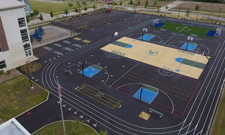 Bucks and Johnson Controls open multi-sport complex at Browning Elementary