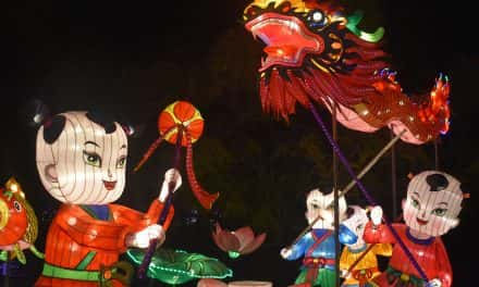 Photo Essay: Chinese lanterns illuminate the Boerner Botanical Gardens
