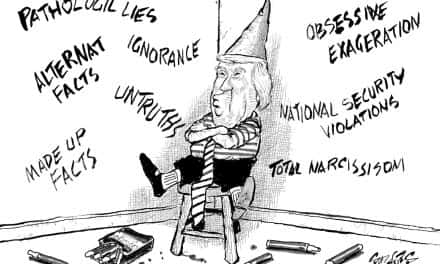 Retired Milwaukee political cartoonist blasts Trump over his compulsive lying