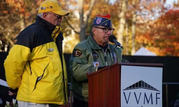 George Banda: Honoring lost friends in vigil to Vietnam veterans at The Wall