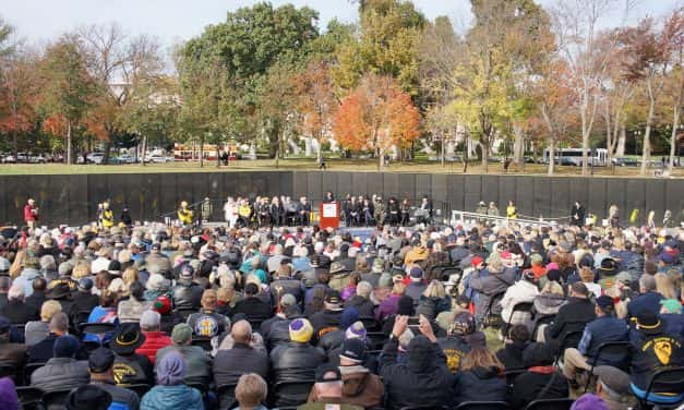 Maya Lin: Ceremony marks 35th anniversary of Vietnam Memorial's healing power