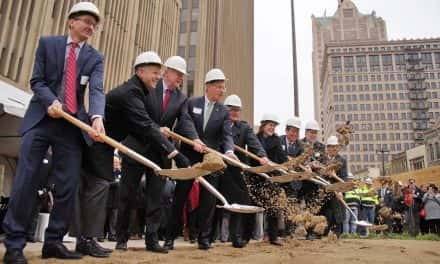 BMO Tower embarks on downtown construction with groundbreaking