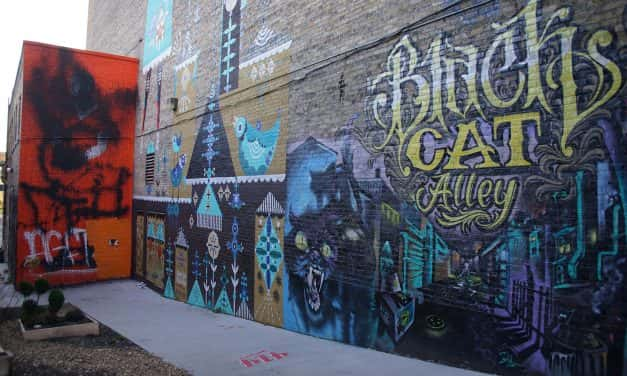 New public art installation coming to Black Cat Alley in April