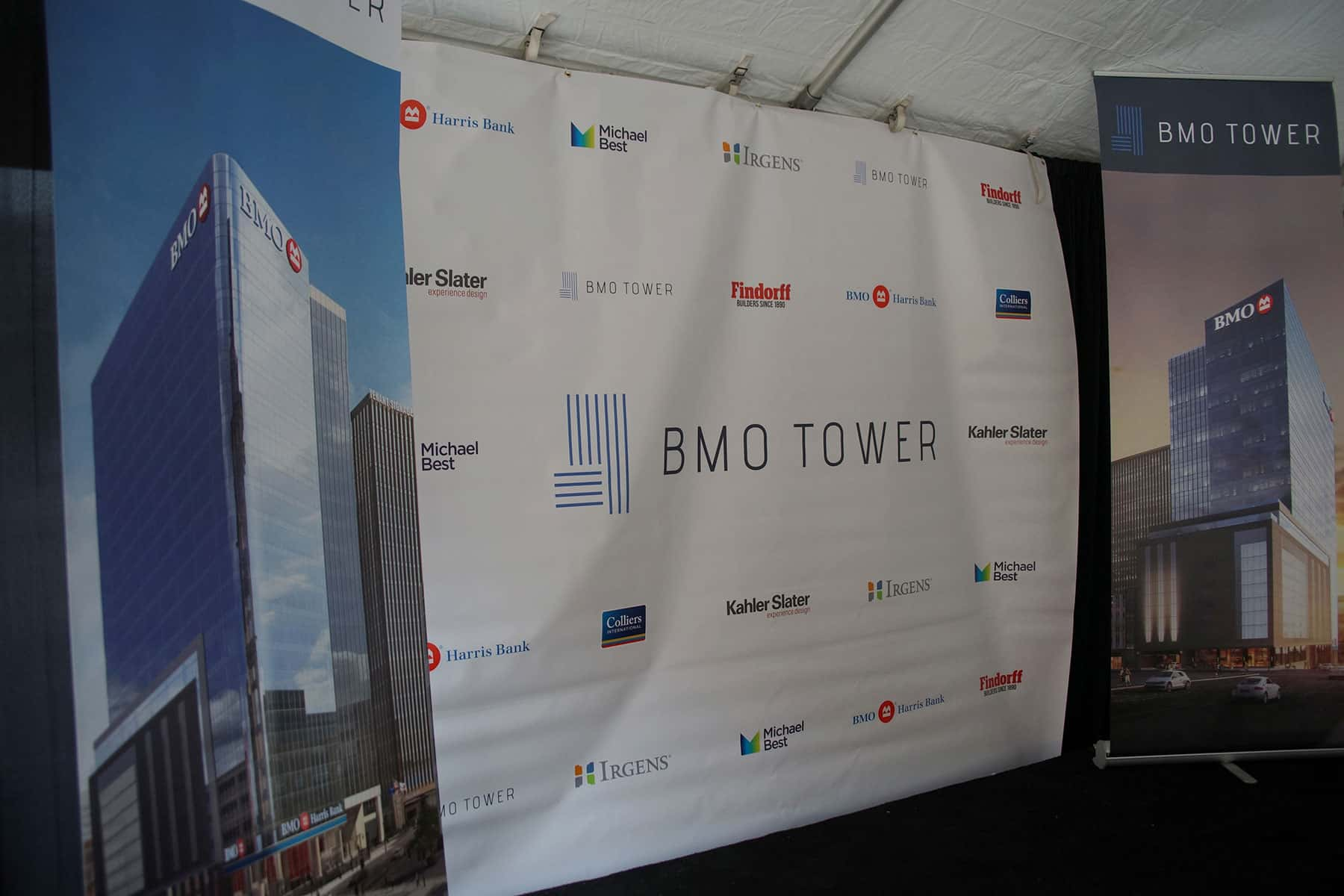 Bmo tower embarks on downtown construction with groundbreaking the 111617bmotower012 malvernweather