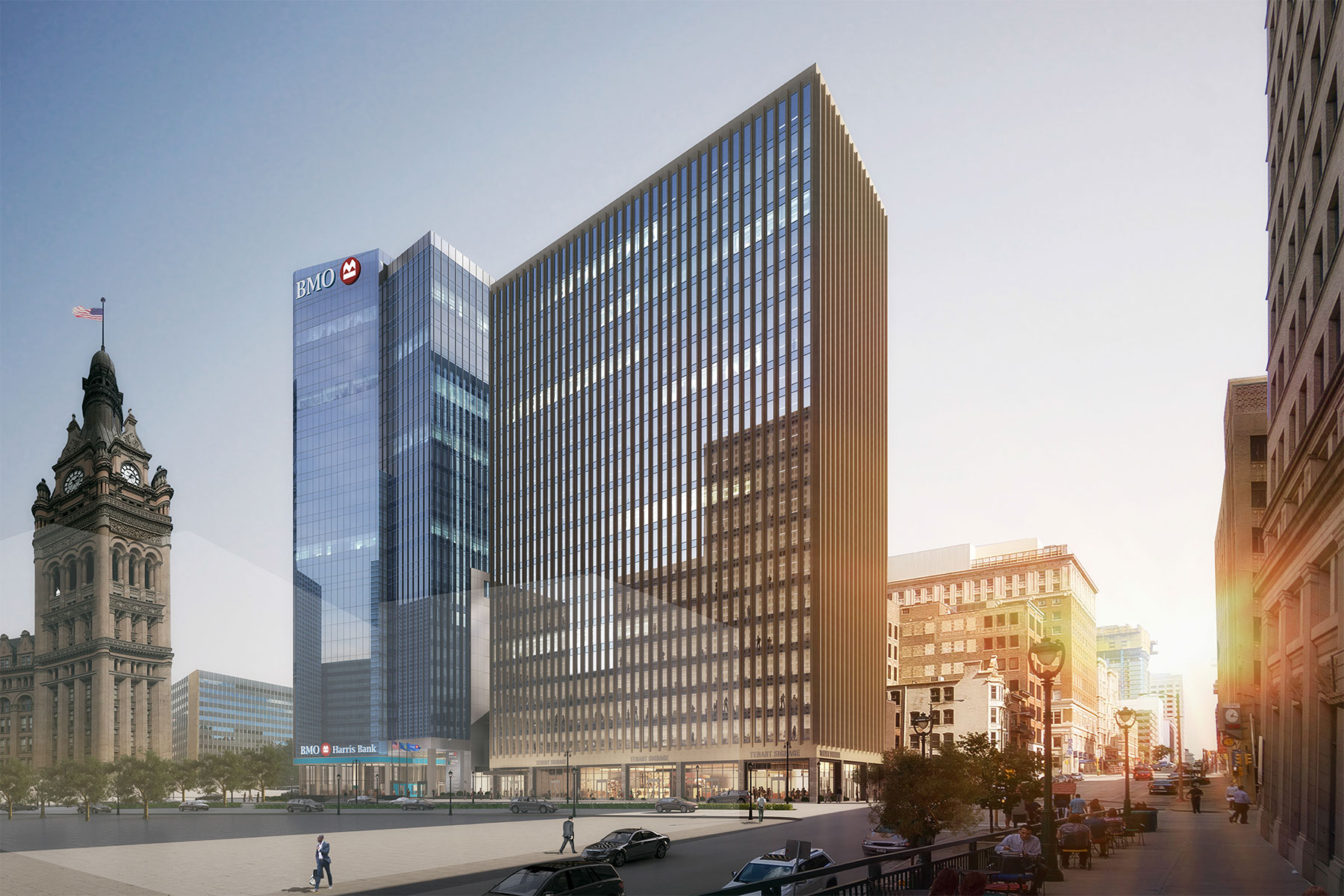 Bmo tower embarks on downtown construction with groundbreaking bmotowerrender03 malvernweather Choice Image