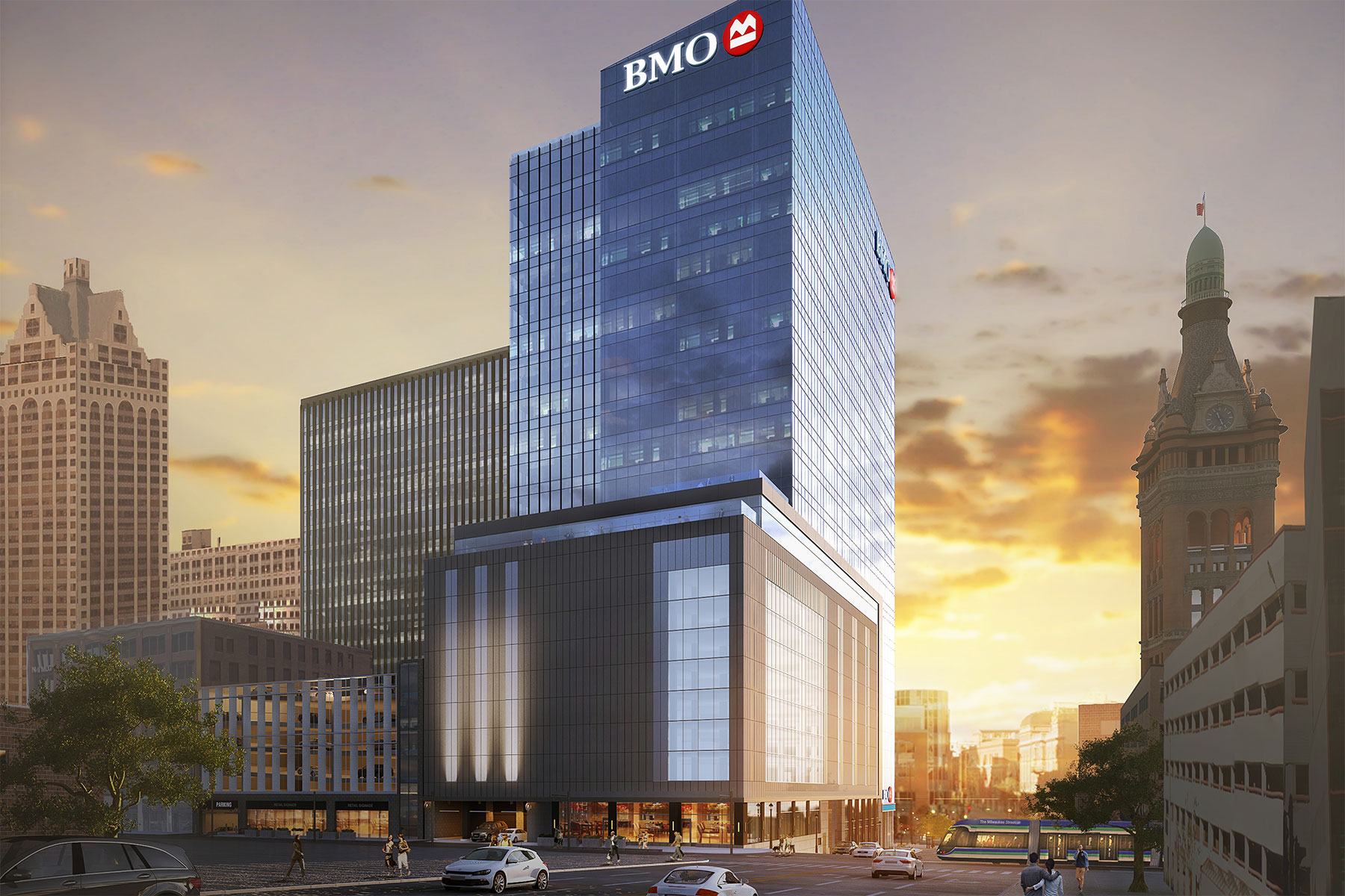 Bmo tower embarks on downtown construction with groundbreaking bmotowerrender04 malvernweather Choice Image