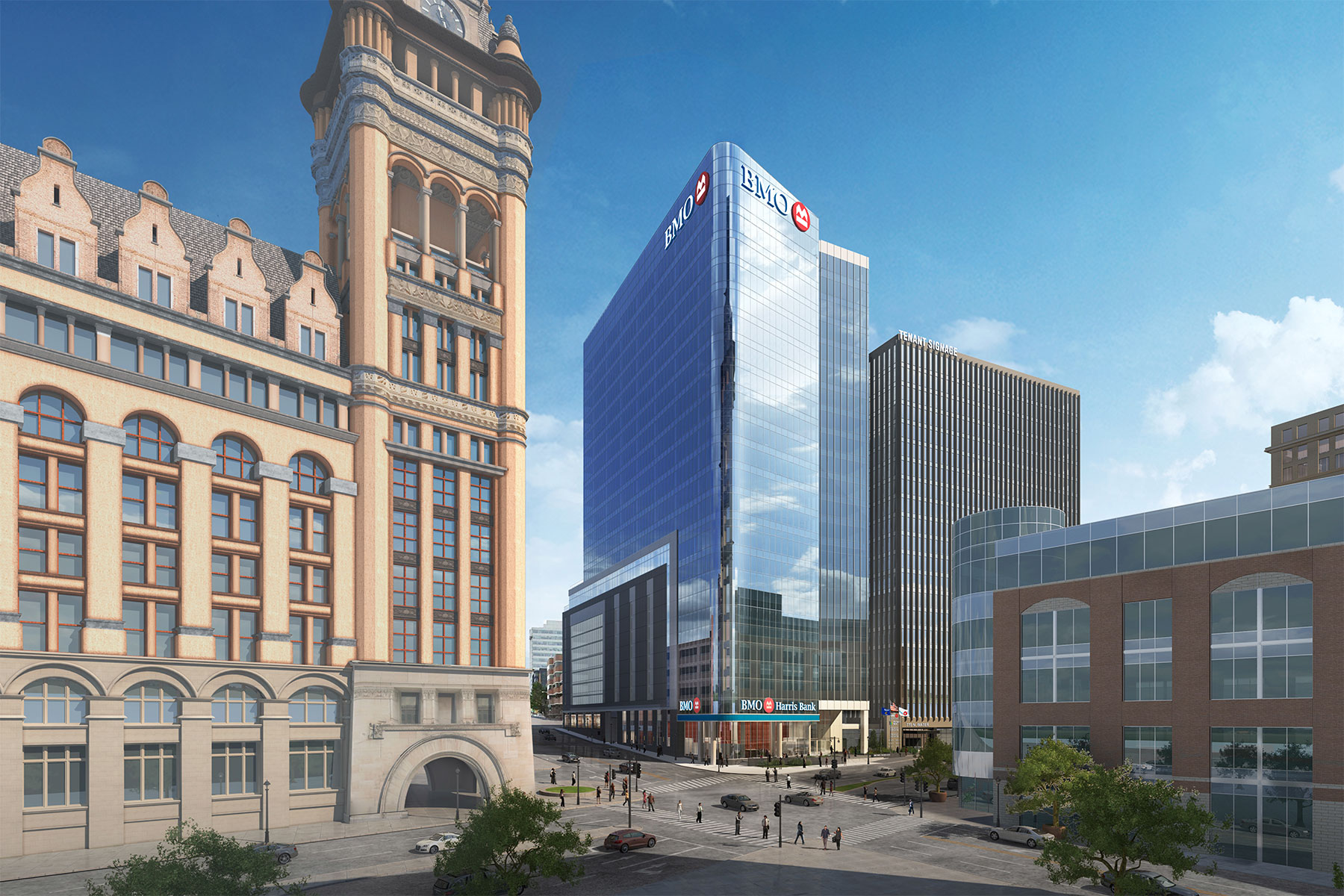 Bmo tower embarks on downtown construction with groundbreaking bmotowerrender06 malvernweather Choice Image