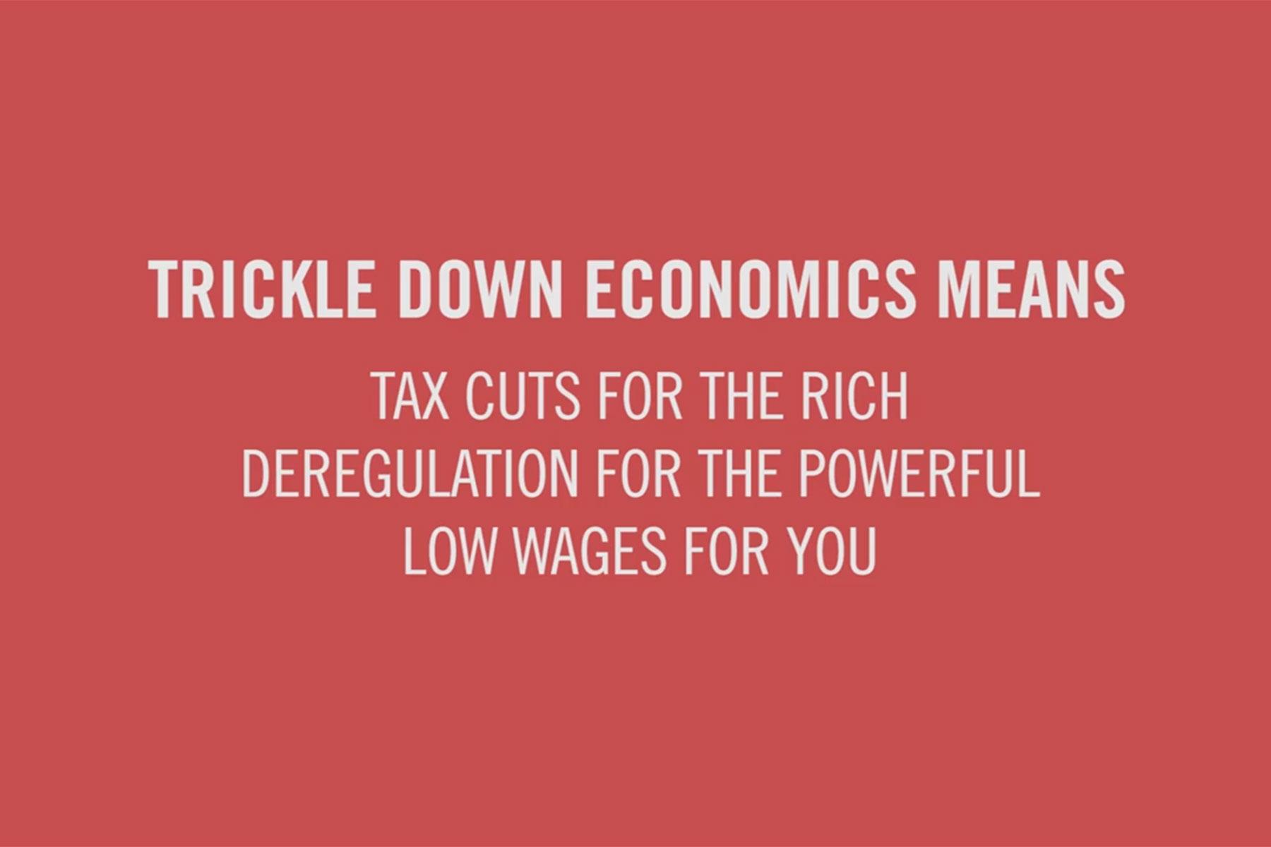 Paul Ryan parody video explains myth of Trickle-Down Economics ...