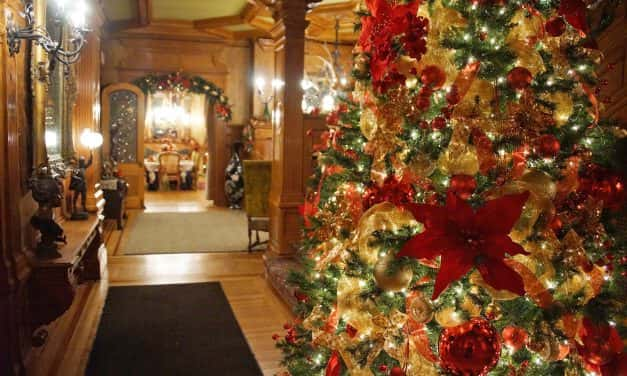 Pabst Mansion decks the halls for Christmas Twilight Tours
