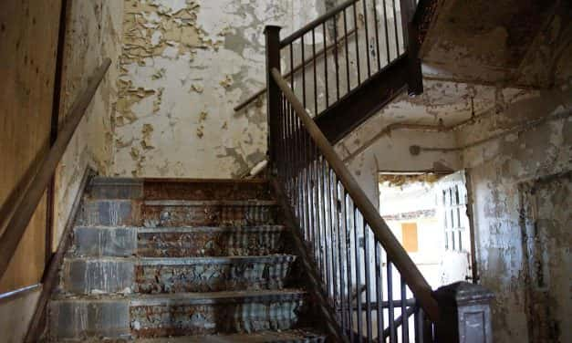 Photo Essay: Inside the decay of Old Main before its restoration