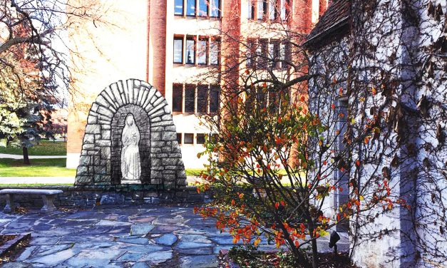 Grotto of the Virgin Mary to be installed behind Joan of Arc Chapel
