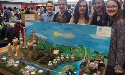 Students design cities of tomorrow for senior citizens at STEM Forward competition
