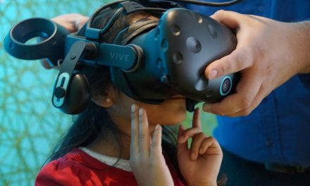 Discovery World's 360° VR exhibit immerses students in simulated journeys