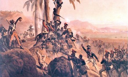 Haiti became an independent nation when enslaved Blacks defeated Napoleon