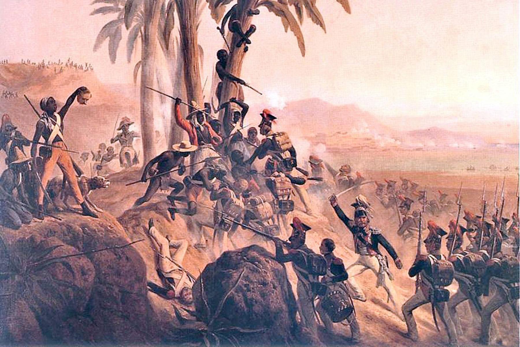 Haiti became an independent nation when enslaved Blacks ...