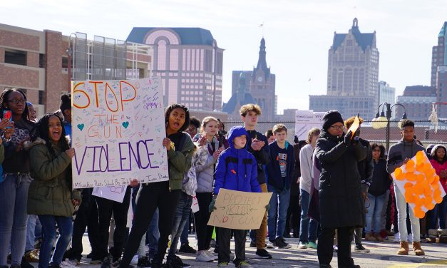 Golda Meir students join national school walkout against gun violence