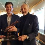 William Bott honored for Milwaukee Rowing Club's diversity outreach program