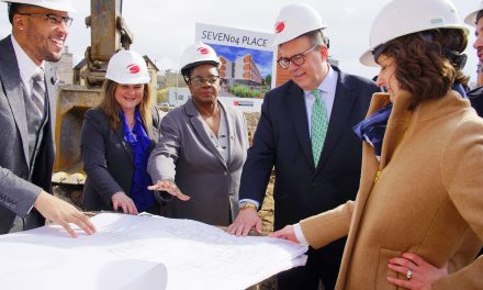 SEVEN04 PLACE breaks ground on affordable housing in Walker's Point
