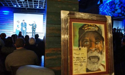 Creative talents of military veterans highlighted at Veterans Light Up the Arts
