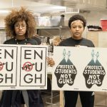 """Milwaukee students participate in art build to support """"March for Our Lives"""""""