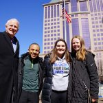 Mayor Barrett and students appeal to Governor Walker to value the lives of kids over NRA money