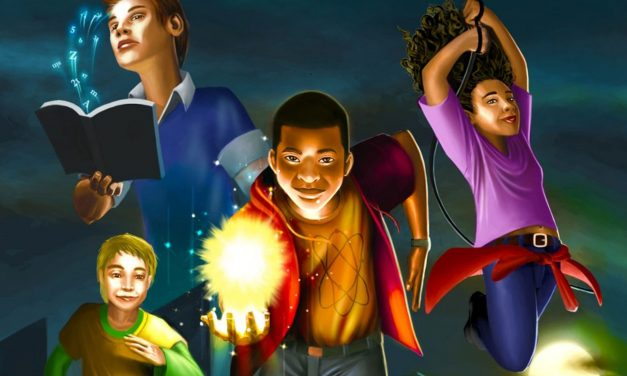 """Glendale author's """"Mighty Marty Hayes"""" combines Black Panther with Harry Potter"""