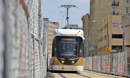 Milwaukee's first streetcar for The Hop completes successful maiden track test