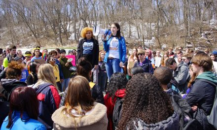 Milwaukee students walkout of class in call to end gun violence on Columbine anniversary