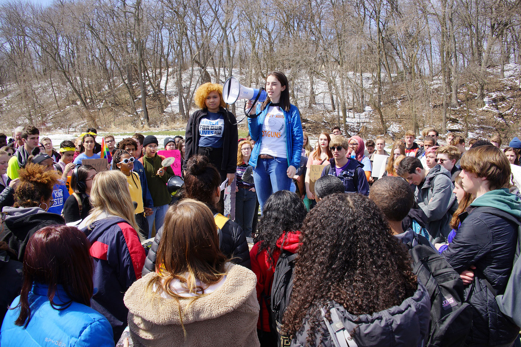 Students Walk Out To Push For Gun Control