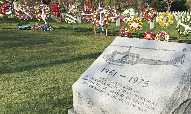Wisconsin Vietnam War Veterans among thousands honored at memorial for helicopter pilots