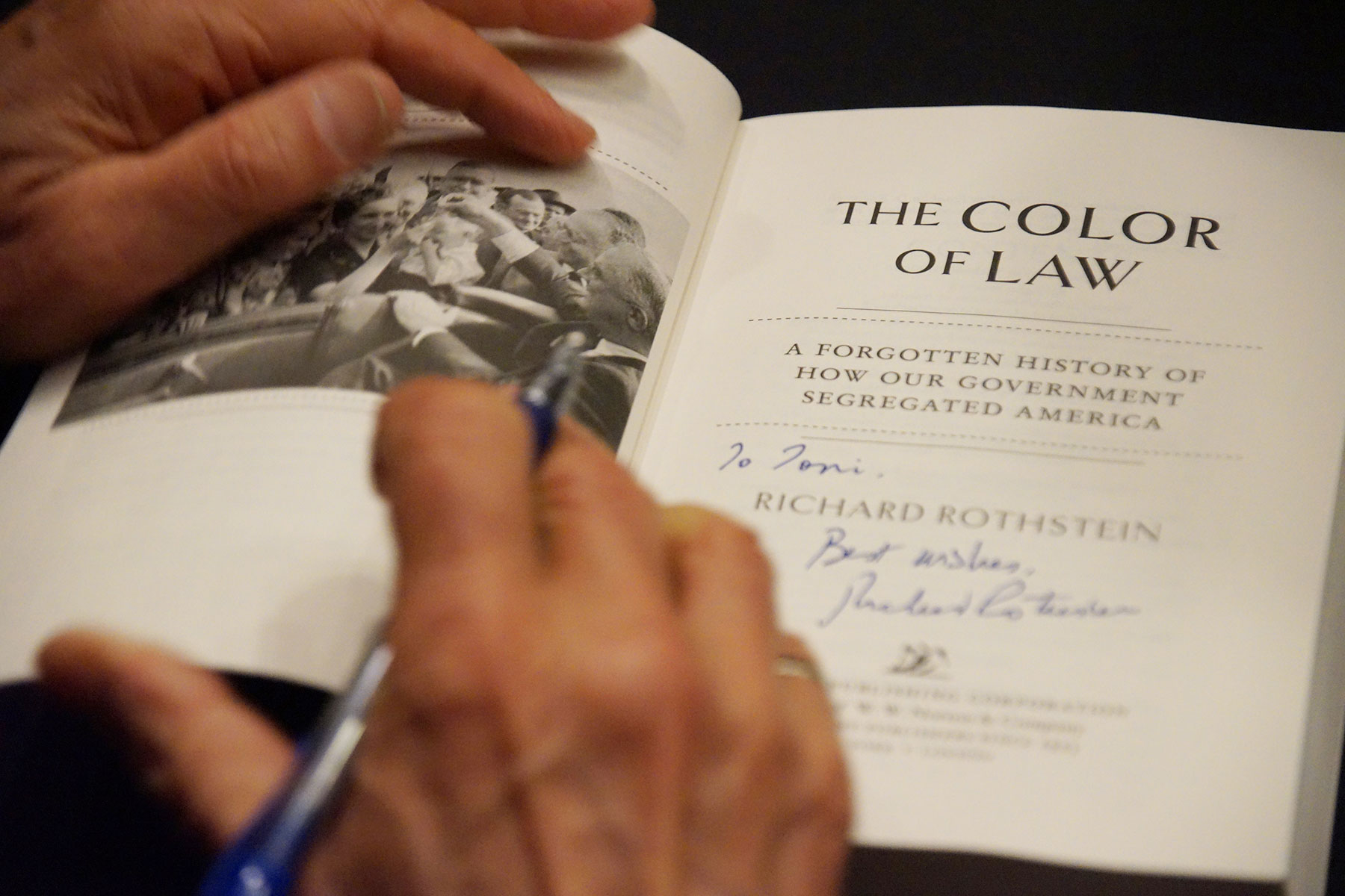 Richard Rothstein S The Color Of Law Book Among School Curriculum