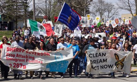 Thousands March in Waukesha against Sheriff Severson's 287g plan for Immigration Enforcement