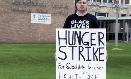 Alex Brower: A hunger strike until MPS substitute teachers get health care coverage