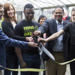 Teens Grow Greens opens new greenhouse and experiential learning facility