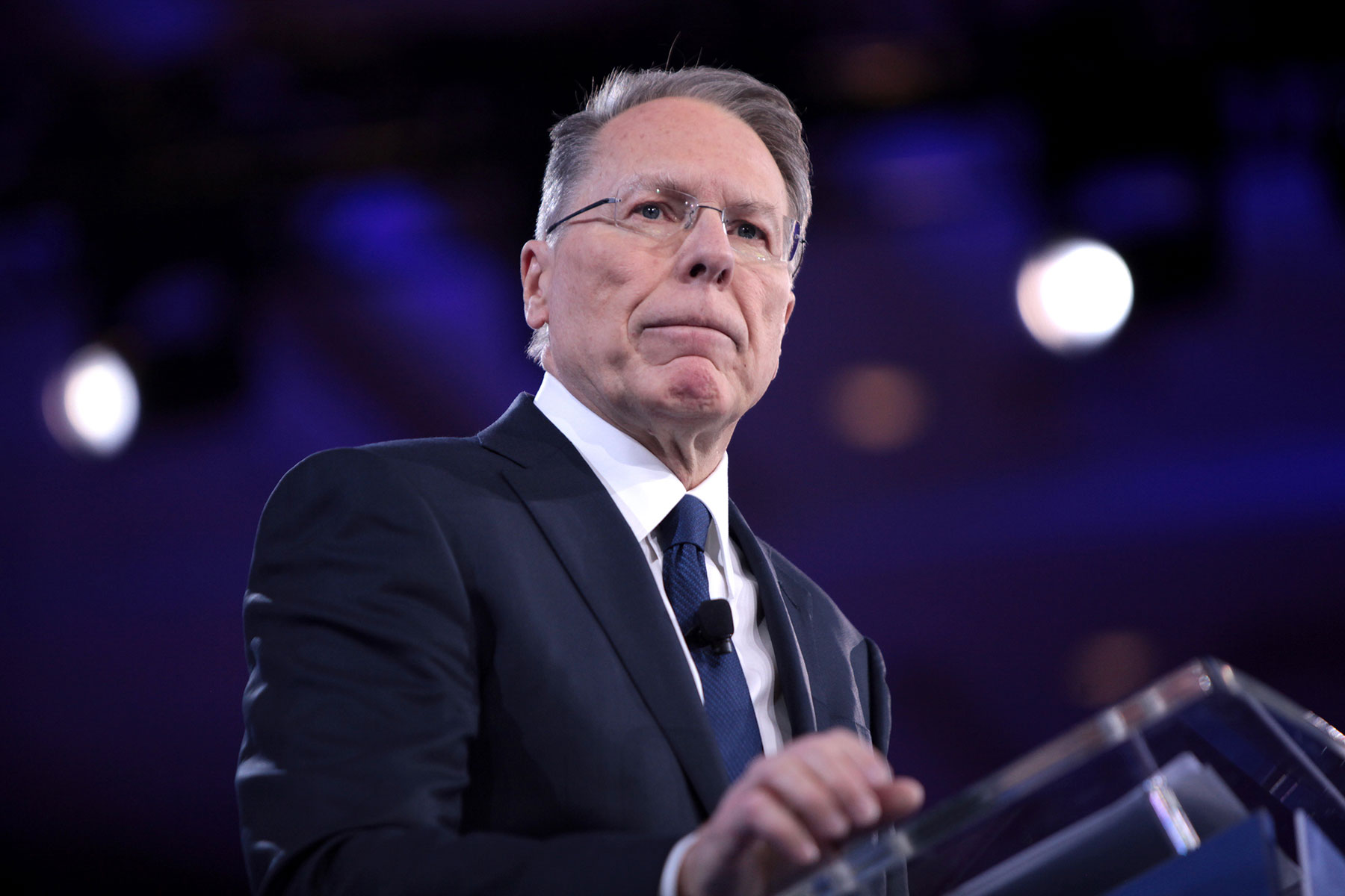 NRA under fire for banning firearms at forum