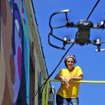 UAV Drone adds a new aerial perspective to local photojournalism