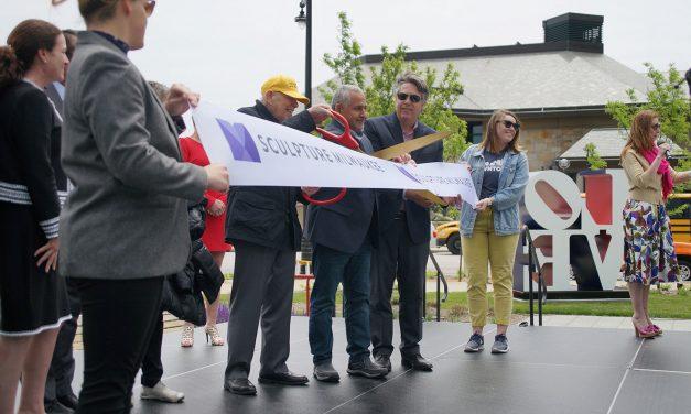 Downtown welcomes Sculpture Milwaukee's public art venue for second season