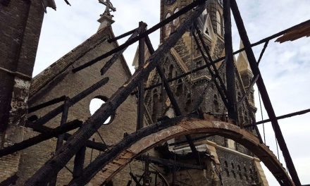 Trinity Church releases statement about structural stability from devastating fire
