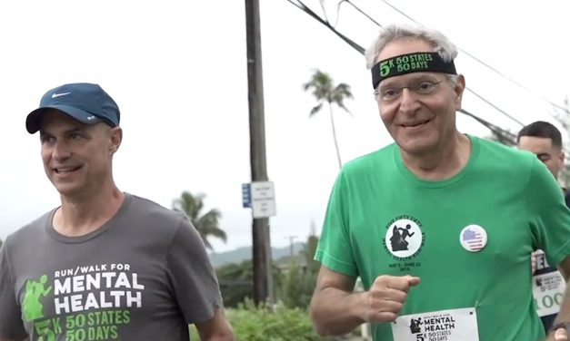 Nephrologist Dr. Adel Korkor raises awareness for mental health with 37th consecutive 5K