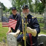 Civil War veterans honored with historical marker on Gettysburg anniversary at Calvary Cemetery