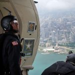 Flying with the Golden Knights during the Milwaukee Air & Water Show