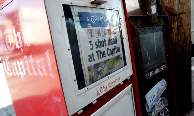 Violence Against Journalists: Shooting at newspaper proves that words have power