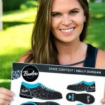Design by local graphic artist picked as national finalist in iconic bowling shoe contest
