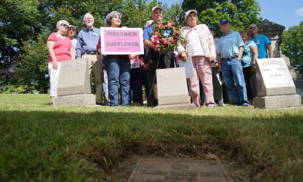 Society of Mayflower Descendants honor historic Wisconsin leaders