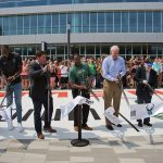 Ribbon-cutting ceremony for Fiserv Forum opens Milwaukee's world-class sports venue