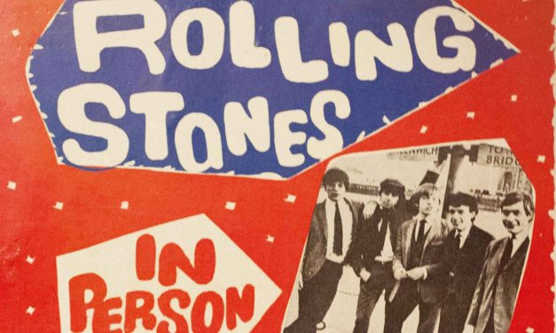 Original 1964 Rolling Stones poster with tour stop in Milwaukee becomes a hot collectable