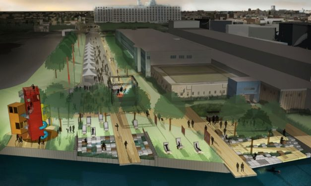 Harbor District's first waterfront park space to be named Harbor View Plaza